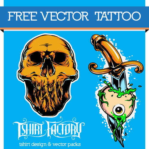 Free Vector Tattoo Free vector art