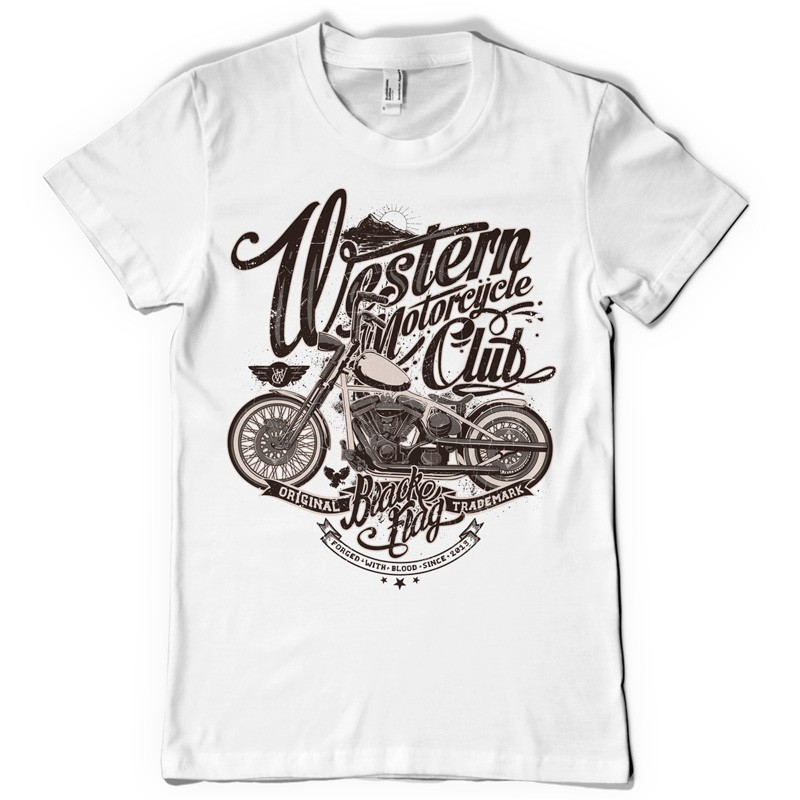 Motorcycle shirt design images Design t shirt online