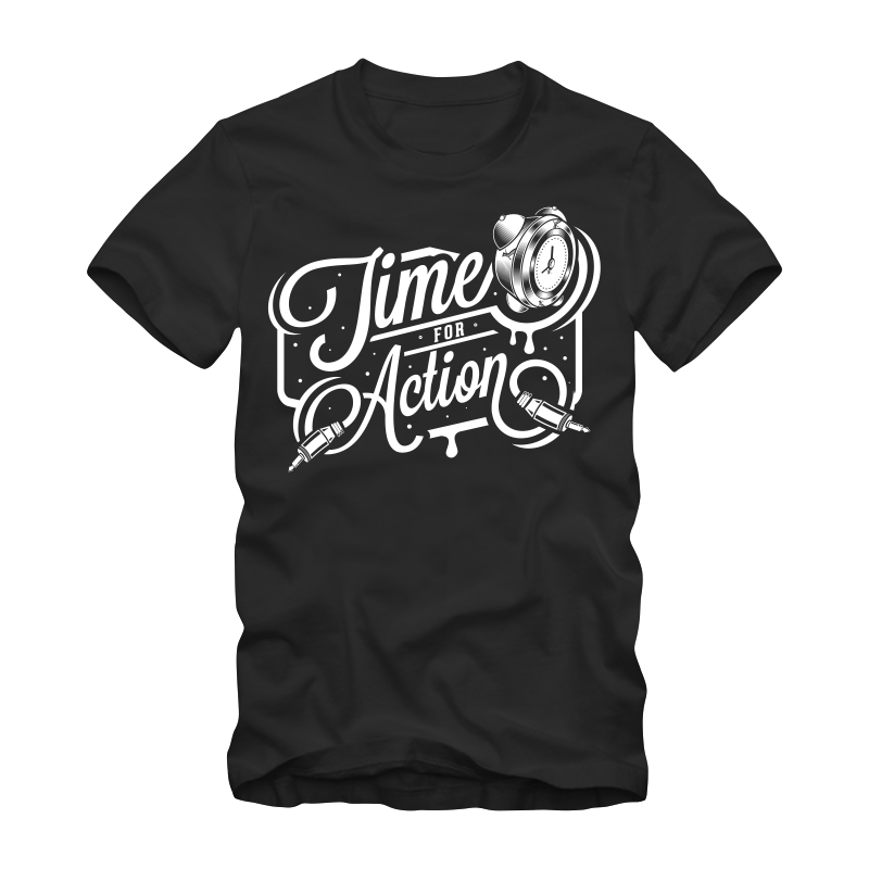 Time For Action Tee shirts