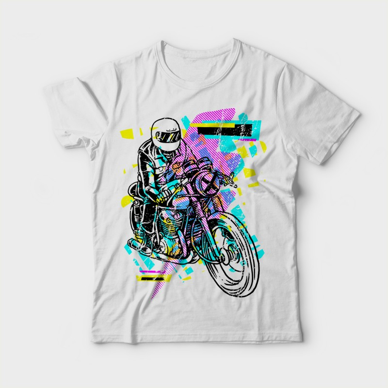 Pop Biker Shirt design