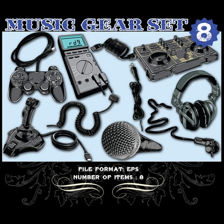 Music Vector Set 8 Vector graphics